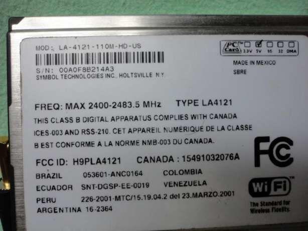 Фото 7 - PC CARD modem для