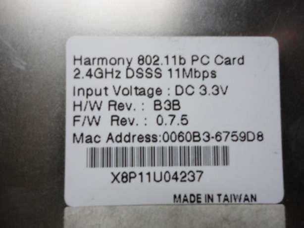 Фото 2 - PC CARD modem для