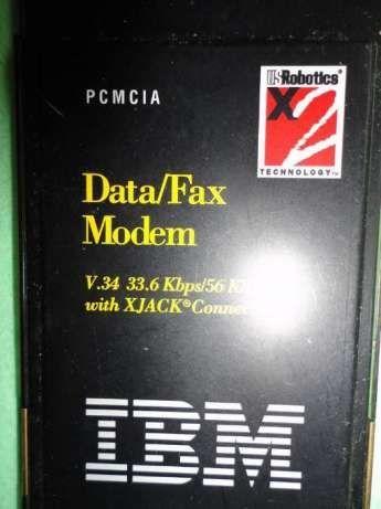 Фото - PC CARD modem для