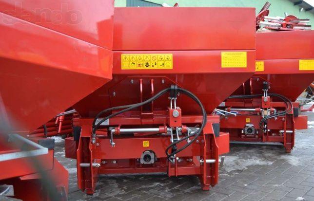 Фото 4 - Разбрасыватель минеральных удобрений 500, 1000 кг Jar-Met Польша