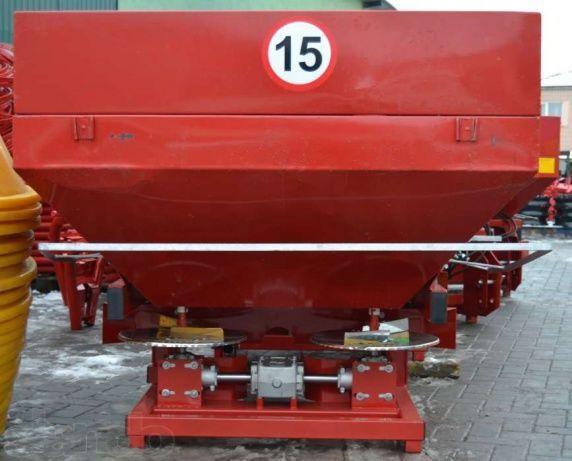 Фото 3 - Разбрасыватель минеральных удобрений 500, 1000 кг Jar-Met Польша
