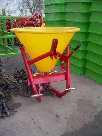 Фото 8 - Разбрасыватель минеральных удобрений 500, 1000 кг Jar-Met Польша