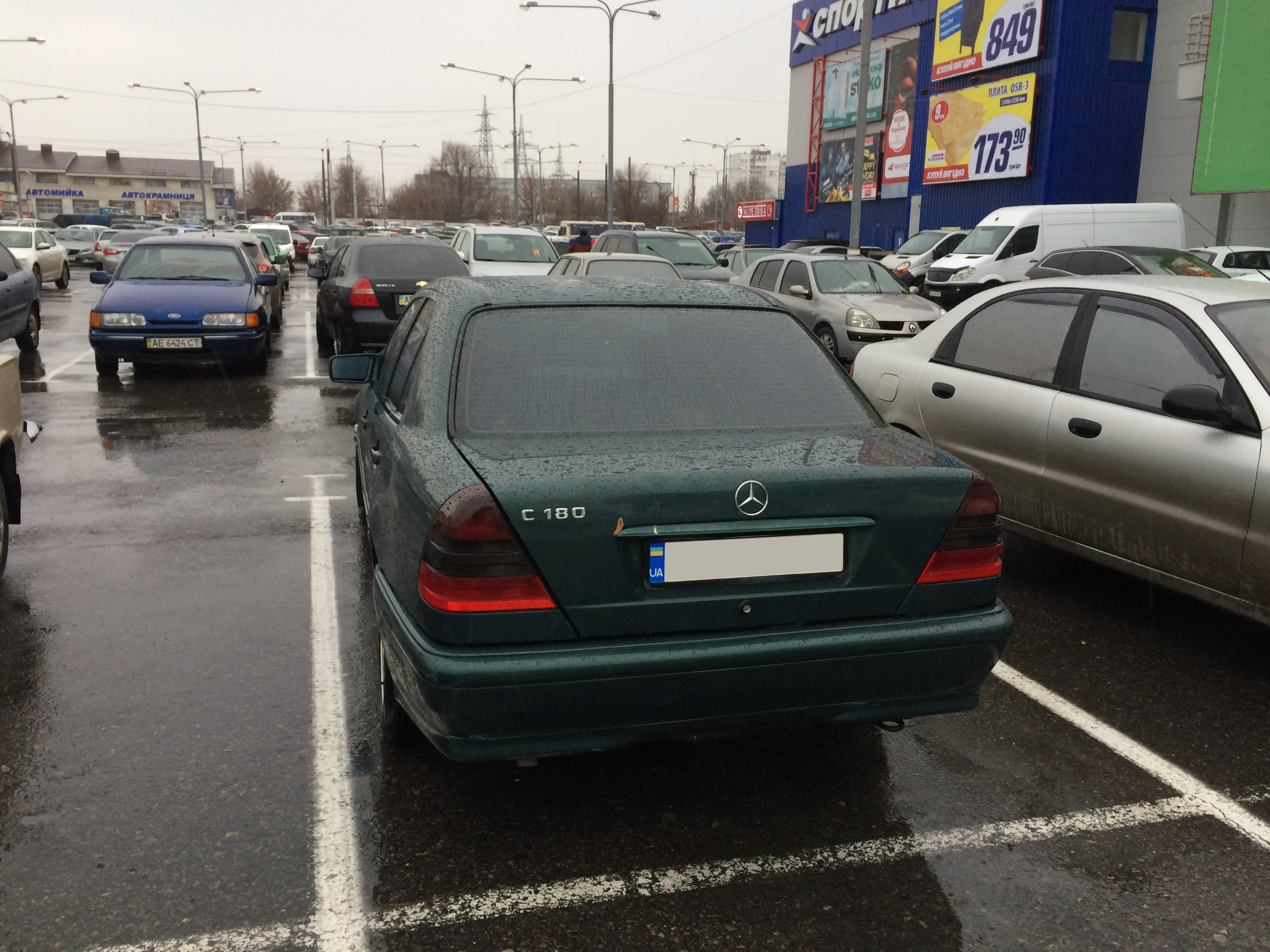 Фото 8 - Mercedes-Benz c180 w202 стоит ГБО 4 поколения! ГАЗ Пропан-бутан