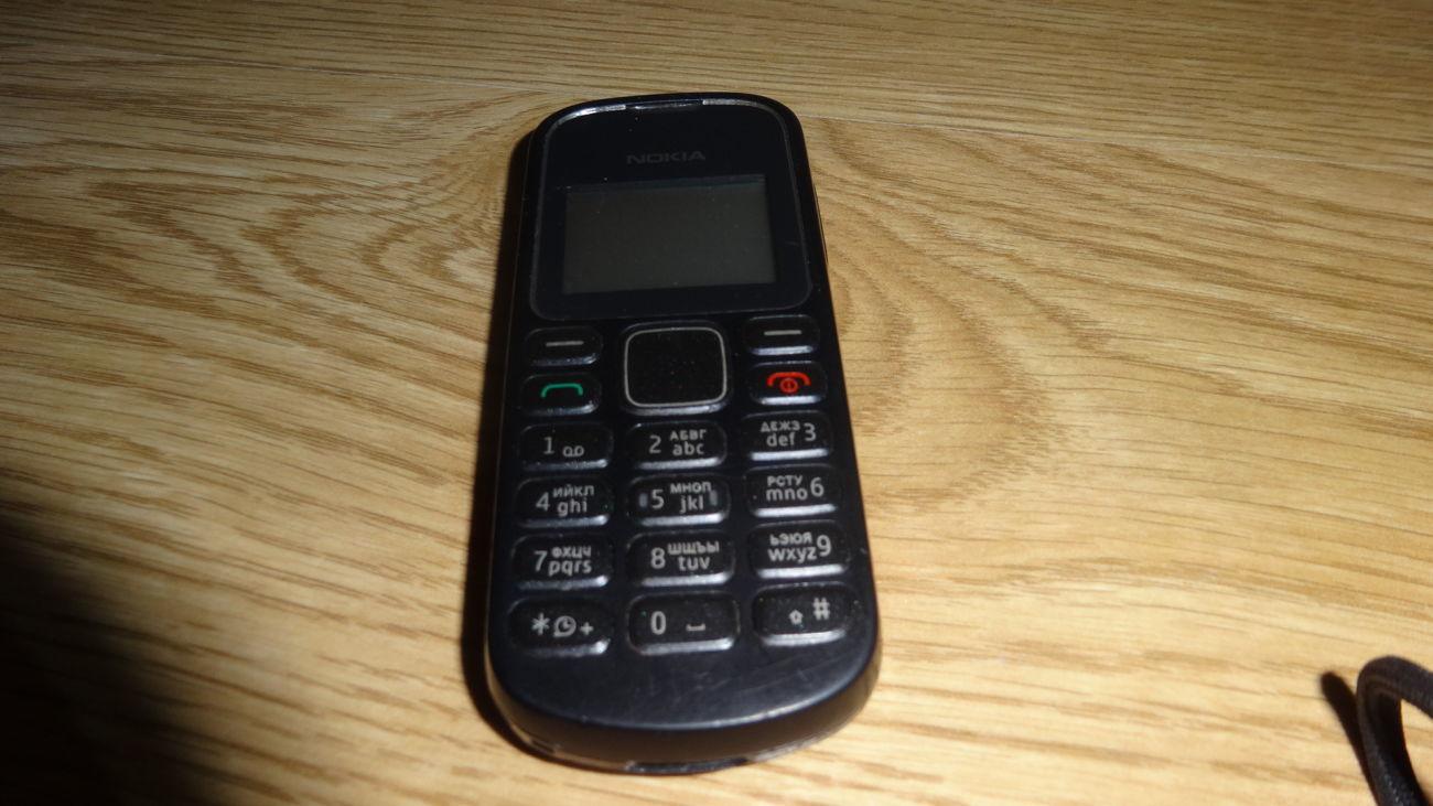 Фото - Nokia 1280 с фонариком