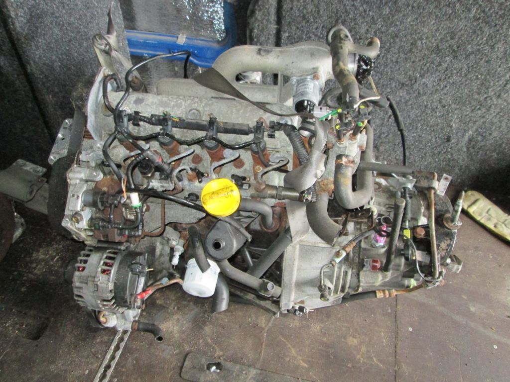 Фото - Двигатель Opel Vivaro 1.9 dci 2001-2006