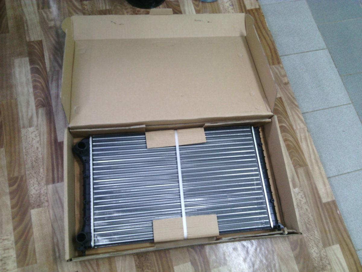 Фото - Радиатор охлаждения на Фиат Добло (Fiat Doblo)