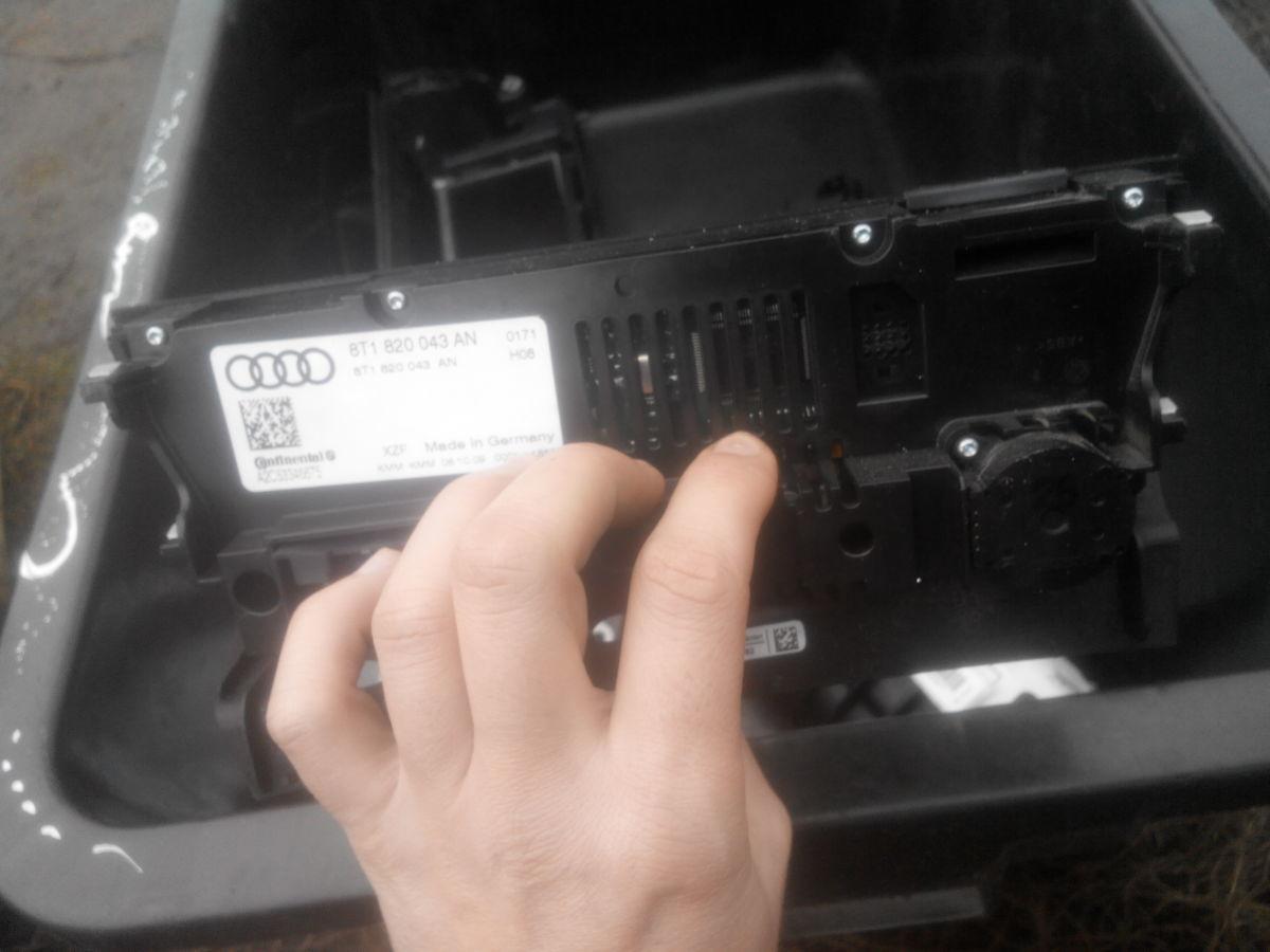 Фото 2 - Audi A4 A5  B8 8K Блок управления климатом 8T1820043AN