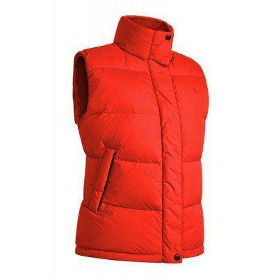 Фото - Болоньевая жилетка, стеганная, с двумя карманами