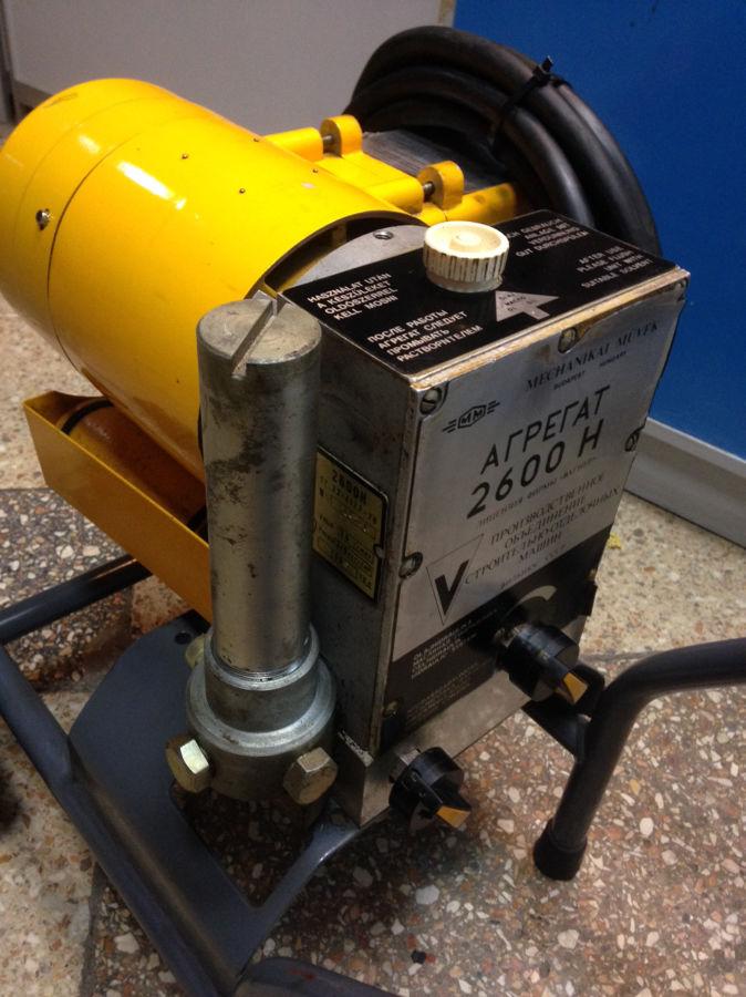 Фото - Агрегат АВД Вагнер 2600Н безвоздушная окраска Wagner высокого давления