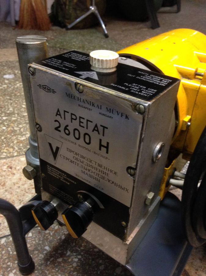 Фото 9 - Агрегат АВД Вагнер 2600Н безвоздушная окраска Wagner высокого давления