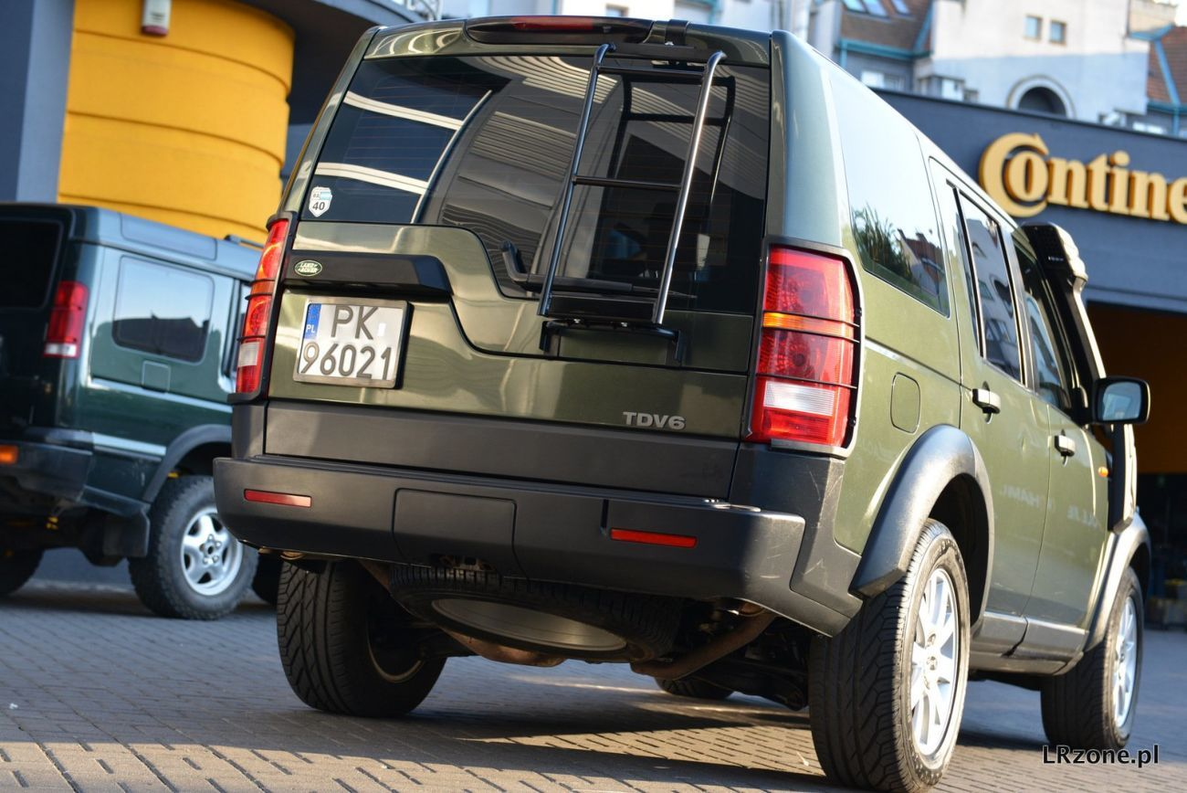 Фото - Крышка багажника Lаnd Rover Discovery 3(Ленд Ровер Дискавери) 05-10год