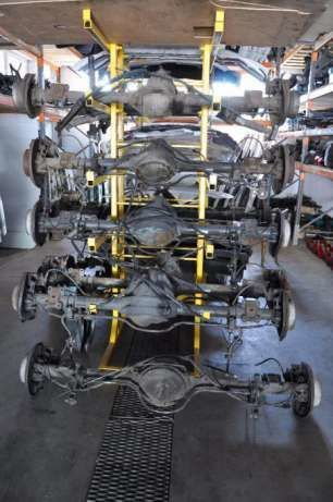 Фото 4 - Задний мост (редуктор) Mercedes Sprinter W906 Crafter 46:11 48:11