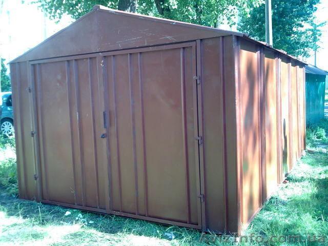 Продаю гараж железный на вывоз купить железный гараж во владимире в добром