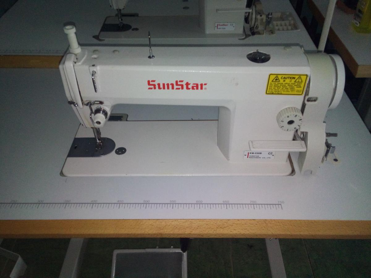 Фото - Промышленная швейная машина Sun Star KM250B, стежок 7мм
