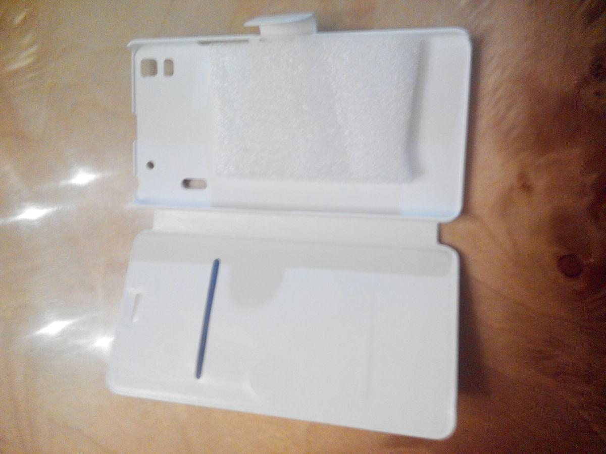 Фото 3 - Чехол кожаный для телефона Lenovo Lemon k3 Примечание 5.5 .