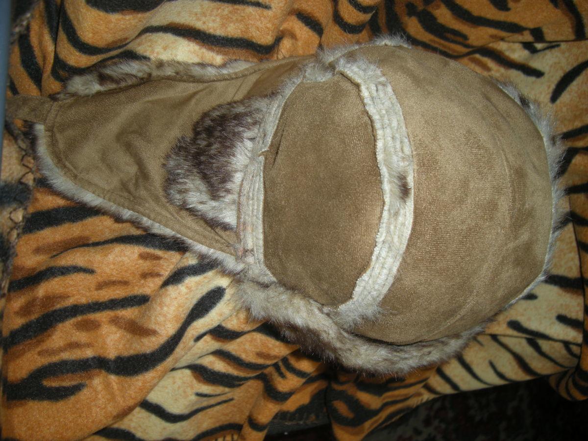 Фото 5 - Супер шапка,62см.меховая