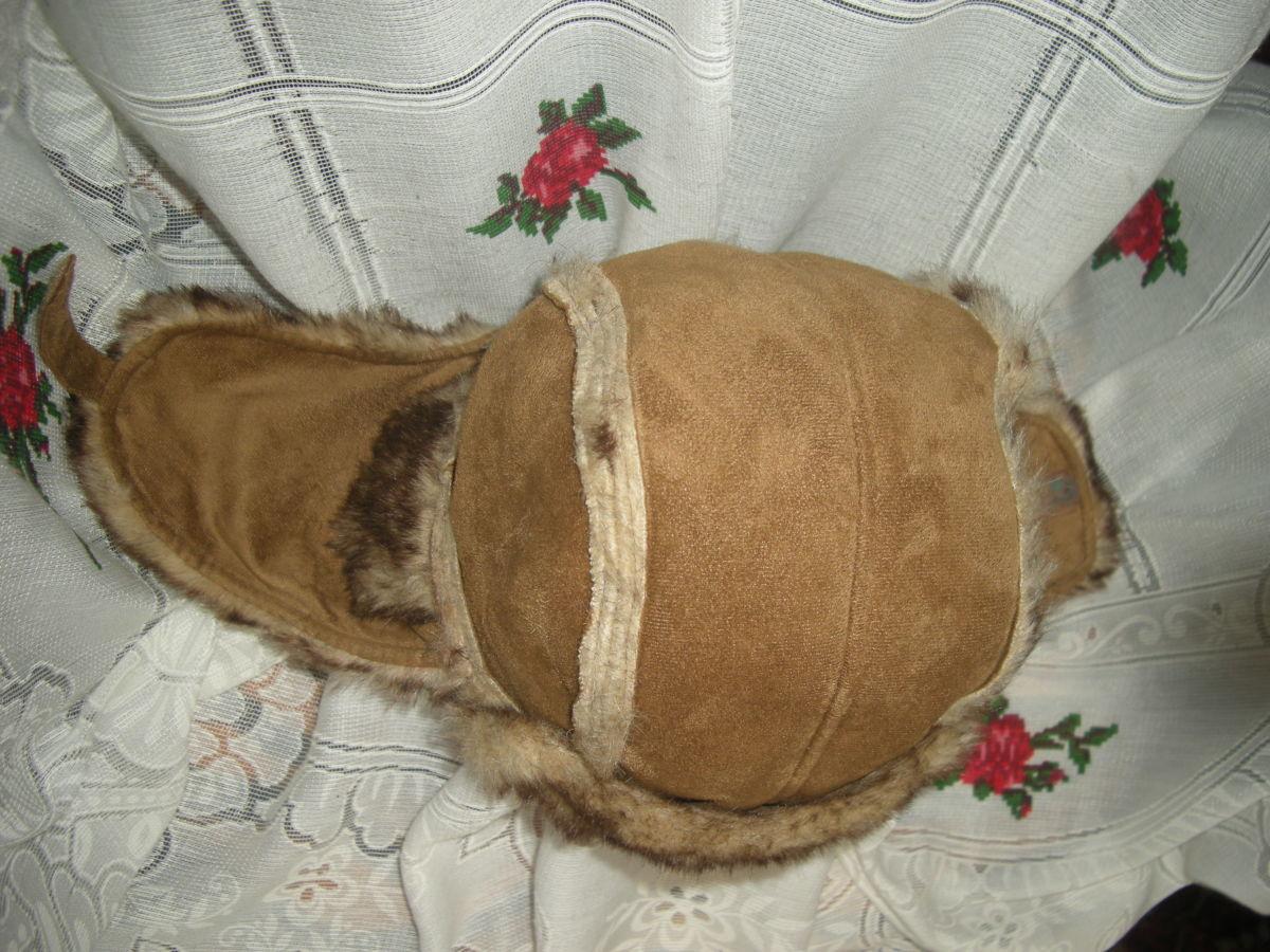 Фото 3 - Супер шапка,62см.меховая