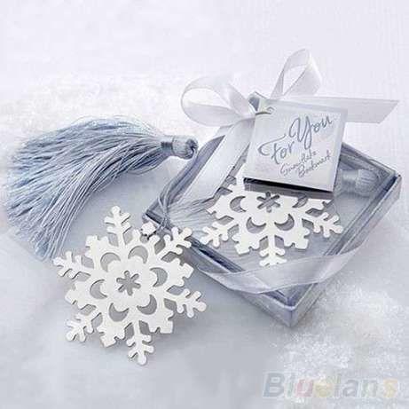 Фото 2 - Закладка для книг Новогодняя Снежинка Корона Медвежонок Сердечко