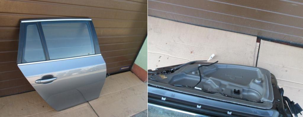 Фото - BMW БМВ 5 серии Е61 дверь задняя правая левая универсал б\у