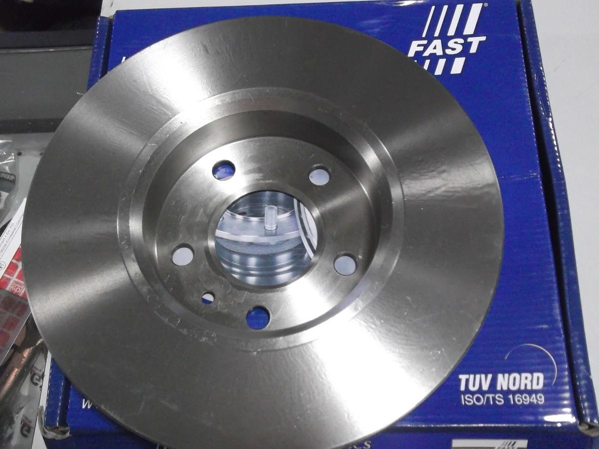 Фото 3 - Тормозной диск передний вентилируемый Trafic, Vivaro 01-
