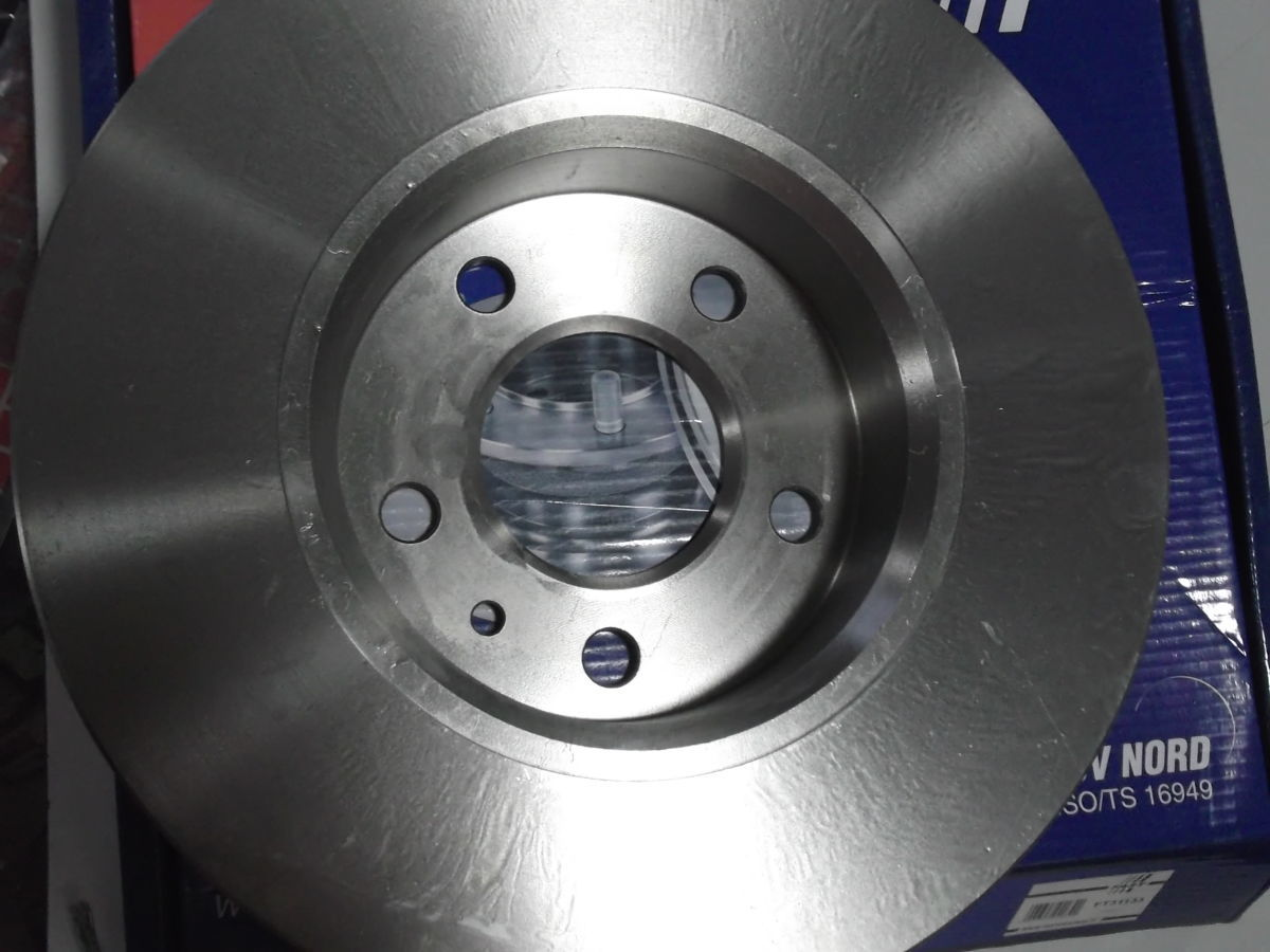 Фото 4 - Тормозной диск передний вентилируемый Trafic, Vivaro 01-