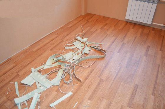 Фото 2 - Укладка линолеума,ламината,ковролина