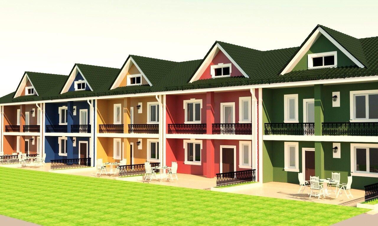 ТаунХаус с гаражом,3 этажа,5 комнат,3 санузла,3 сотки земли,3 км Киев