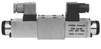 Распределители с электромагнитным управлением WE5x Ponar