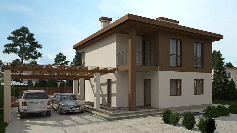 Продается новый дом в городе Буча, Киевская область