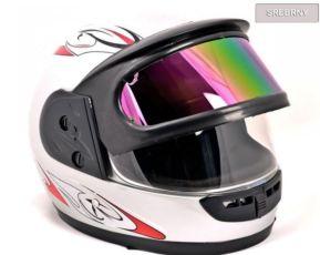 Мотоциклетный шлем каска Скутер, Мото QUAD Новый 2 стекла!
