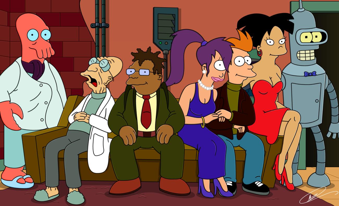 Футурама Futurama все сезоны на DVD