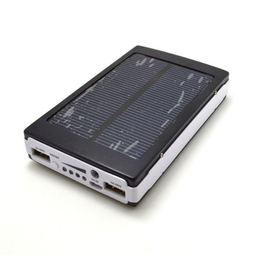 Фото 3 - Солнечная батарея аккумулятор Power Bank 6000 мАч
