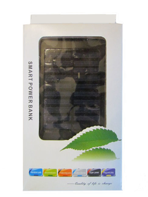Фото - Солнечная батарея аккумулятор Power Bank 6000 мАч