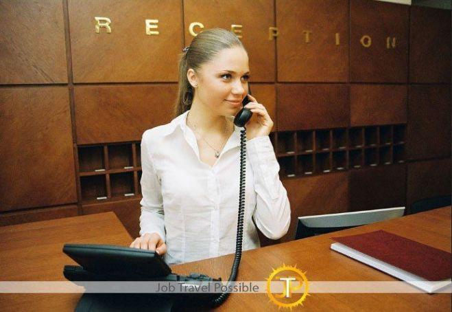 Receptionist в Royal Continental Hotel (Dubai, UAE)