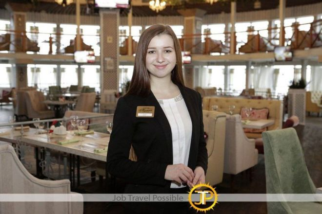 Hostess в Royal Continental Hotel (Dubai, UAE)