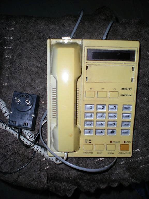 Телефон кнопочный от электросети