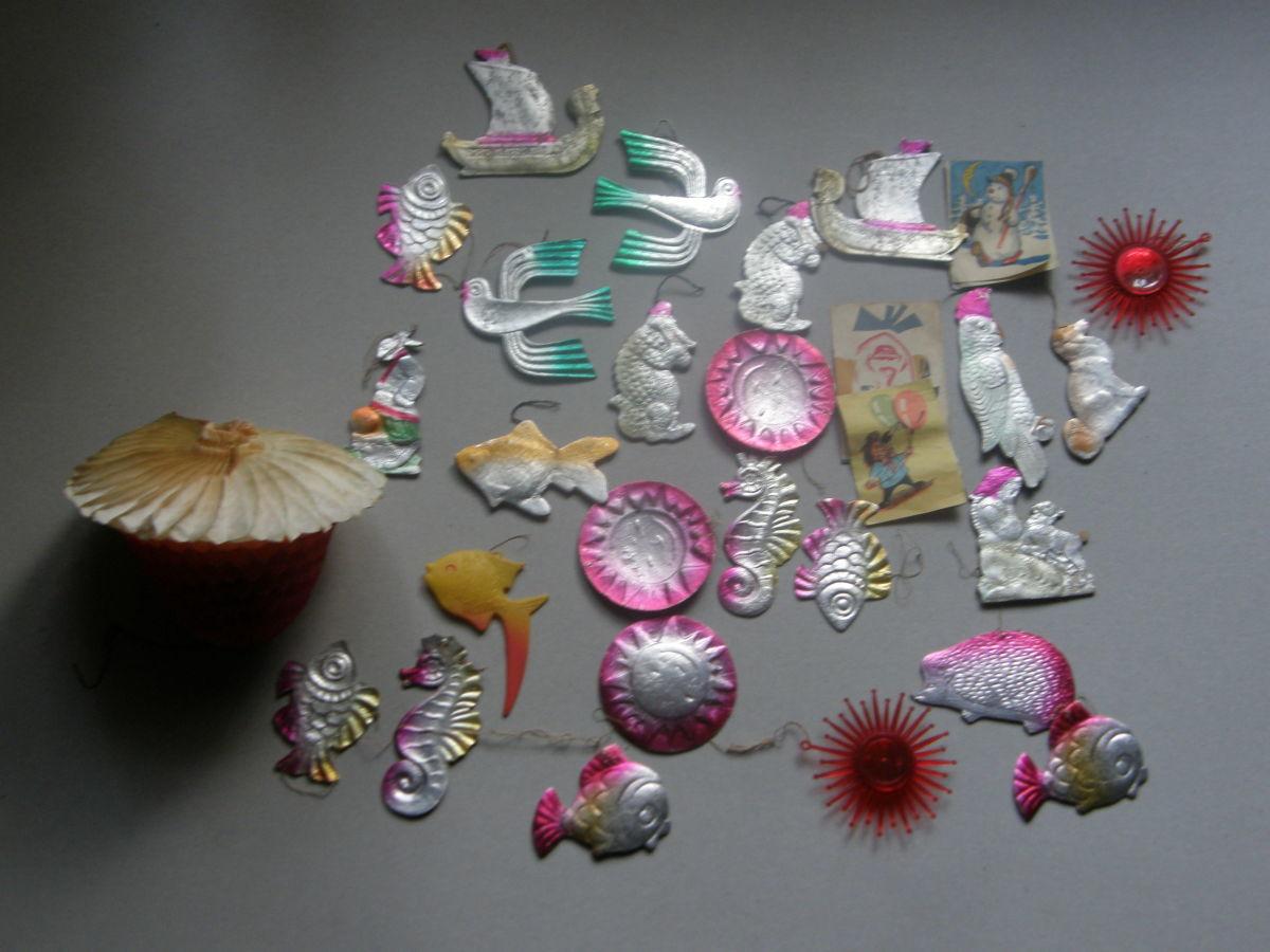 Фото - Коллекция Елочных Игрушек 1950-60х гг. СССР не стеклянные редкие