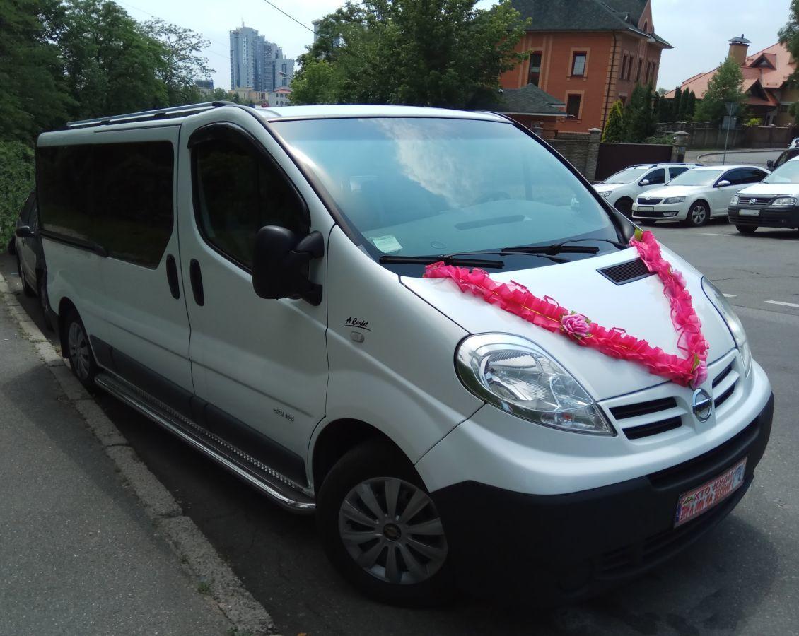 Микроавтобус на свадьбу  8 пас.мест. киев.