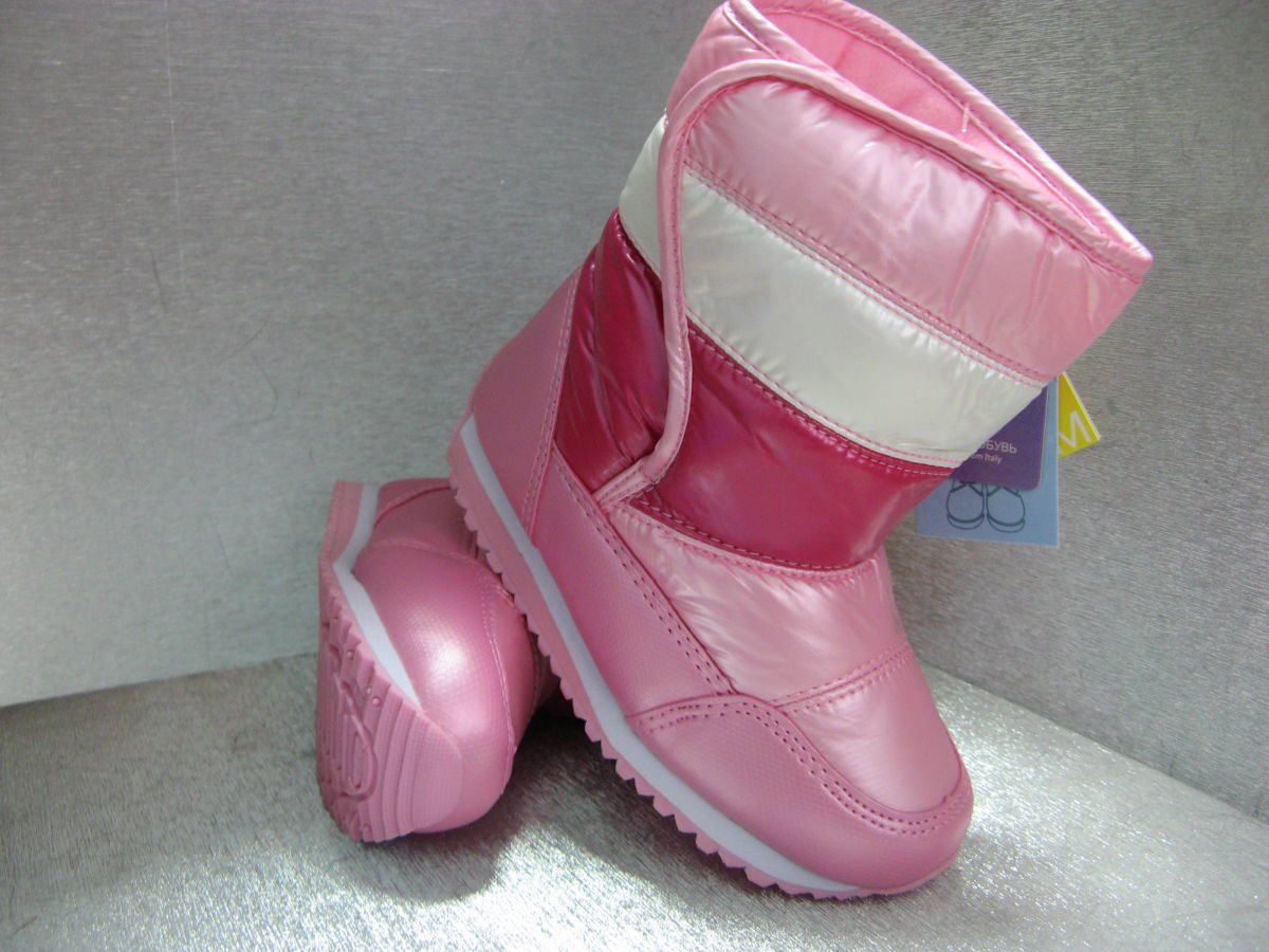 b1efcc209 Купить сейчас - Сапоги дутики детские розовые на девочку 25р.26р.27р ...