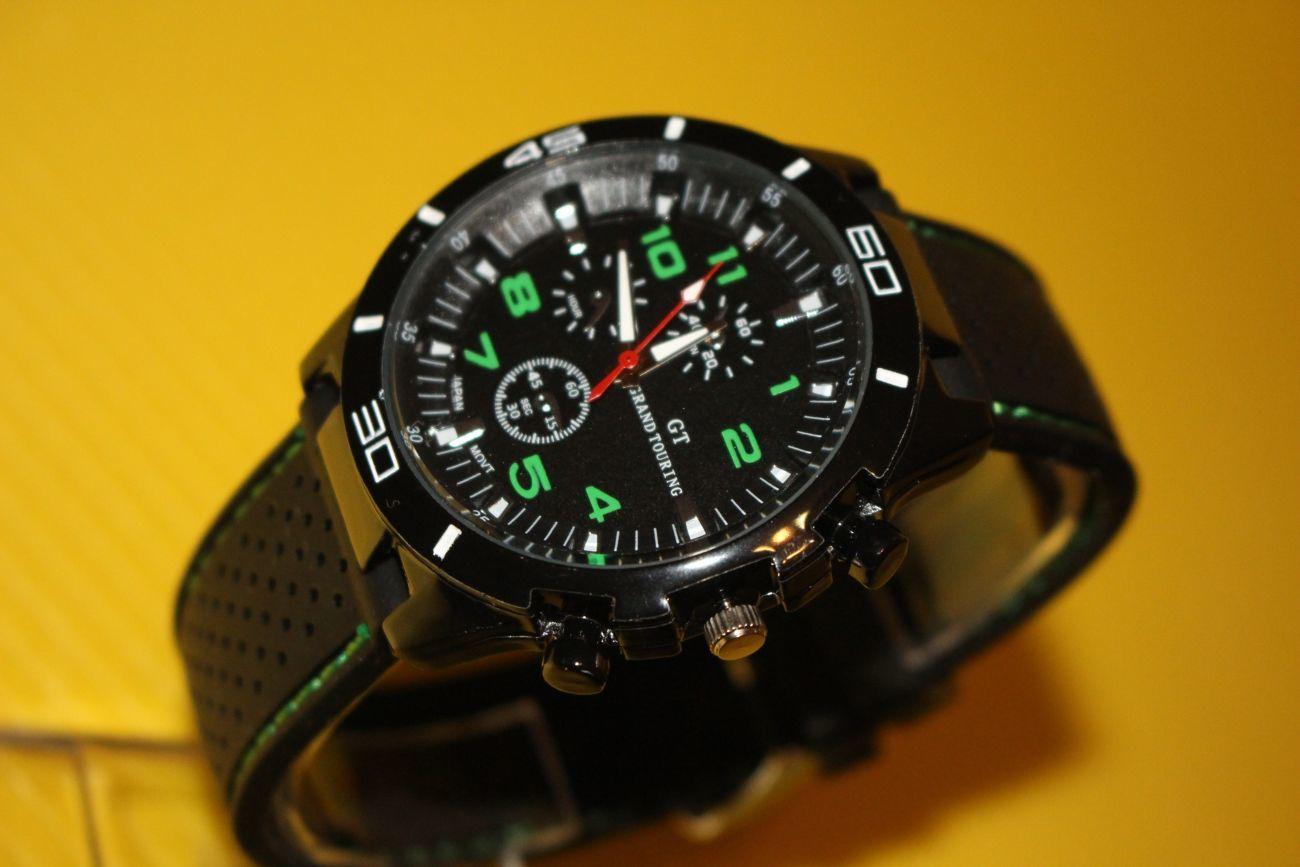 Khs часы sentinel аналоговые, цвет черный.