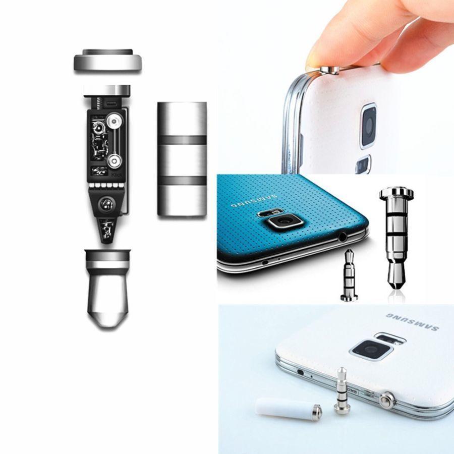 Фото 2 - Програмована кнопка заглушка Klick 360 для гнізда 3,5мм для смартфонів