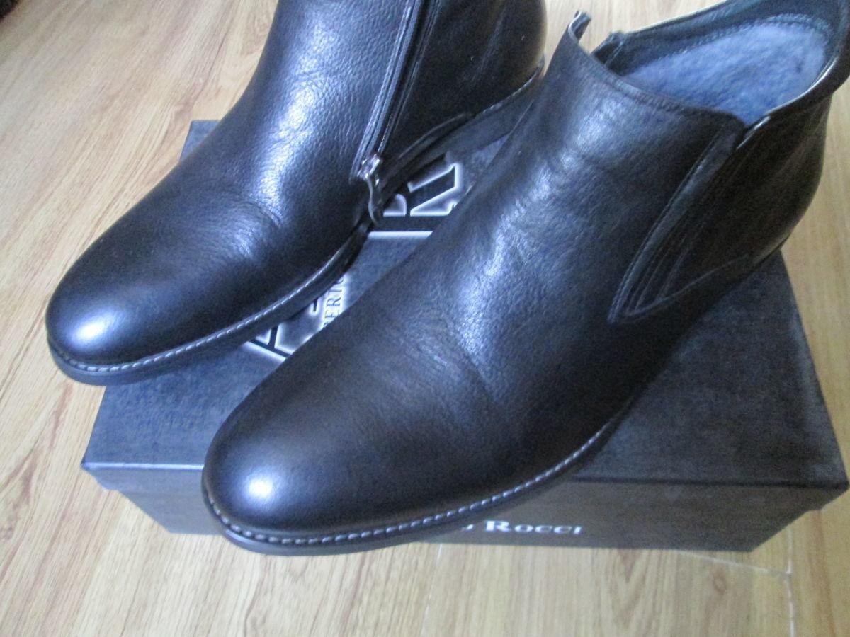 Классика ALBERTO ROCCI мужские ботинки тёплые.