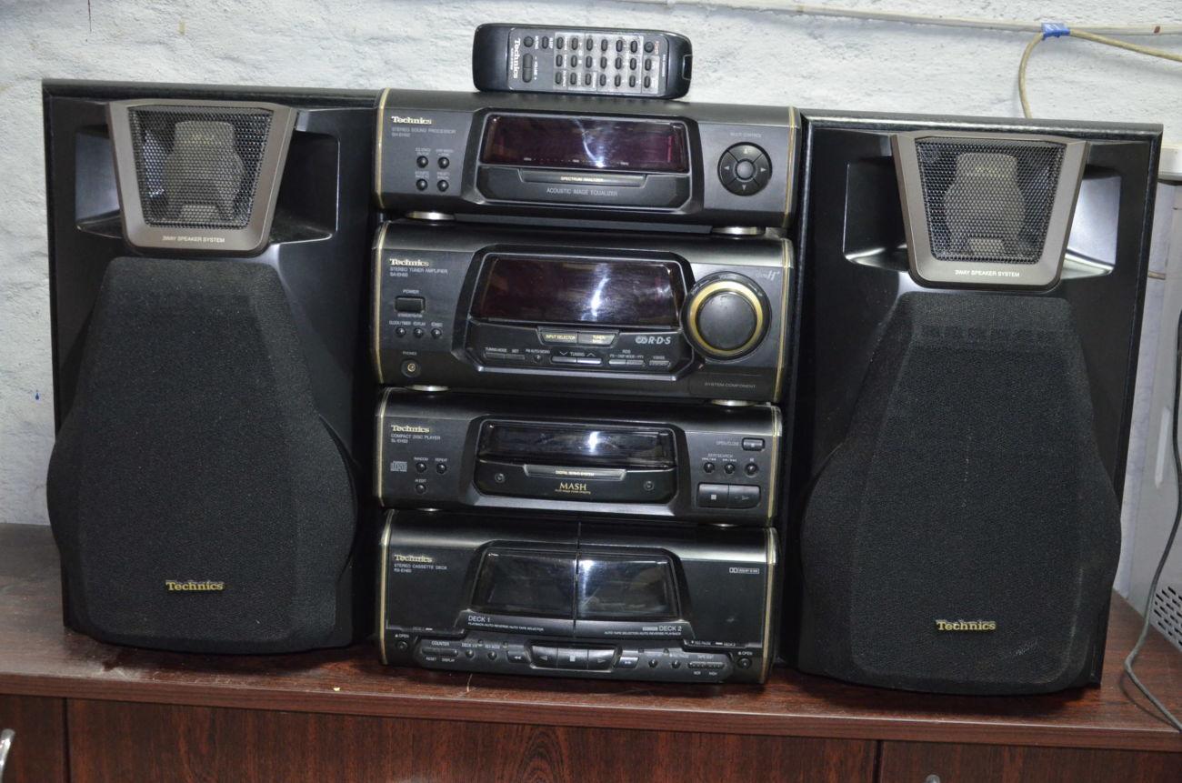 Музыкальный центр Technics SL-EH50 Идеальный