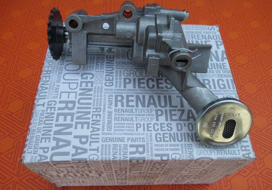 Масляный насос на Renault Master 1.9 dci (Рено Мастер) новый