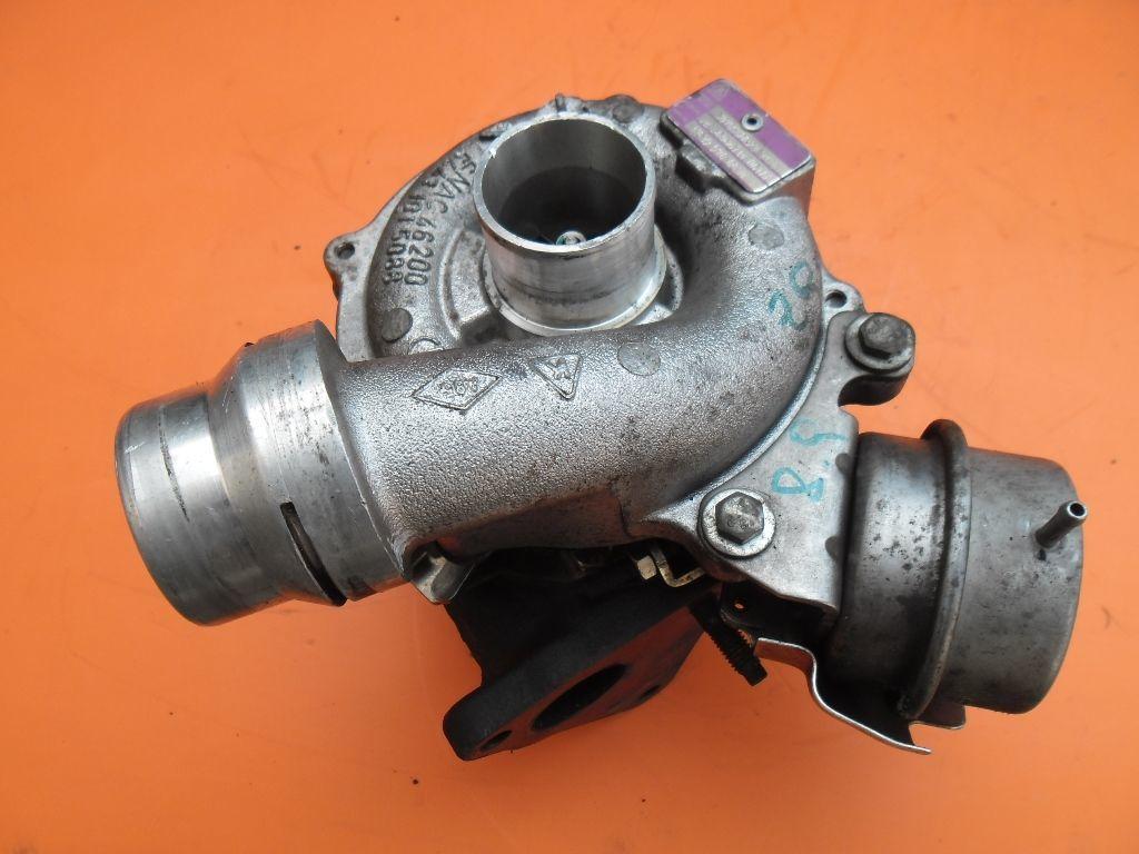 Турбина на Renault Kangoo 1.5 dci 2009- (Рено Кенго)