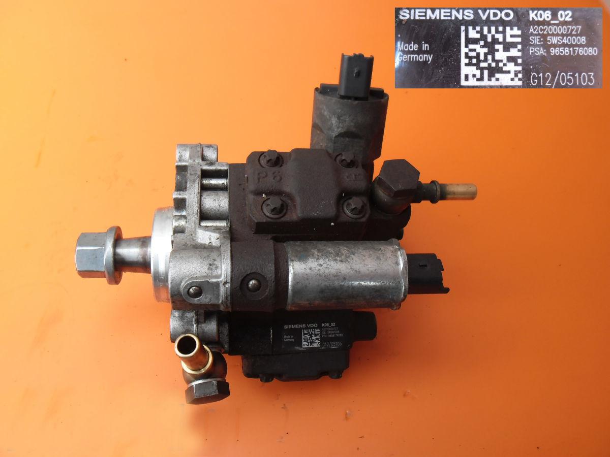 Топливный насос на Peugeot Bipper 1.4 hdi 9658176080
