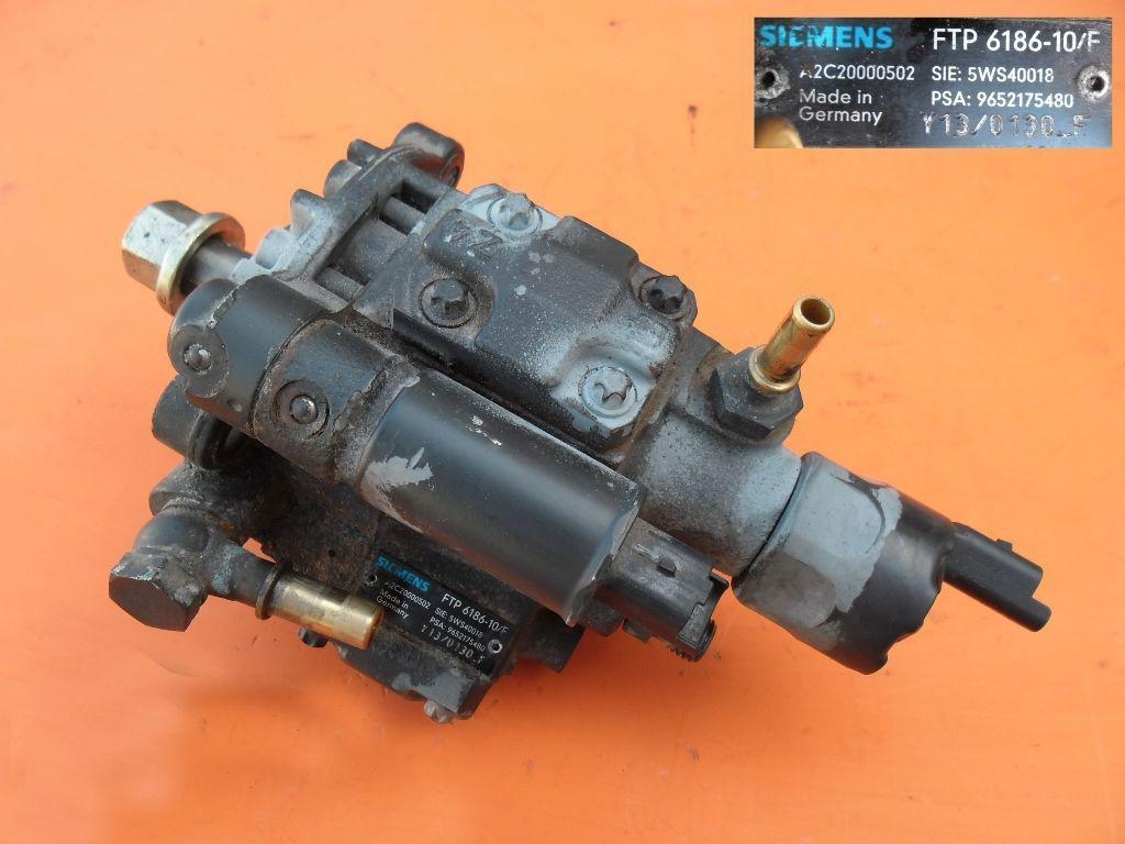 Топливный насос на Peugeot Partner 2.0 hdi 9652175480