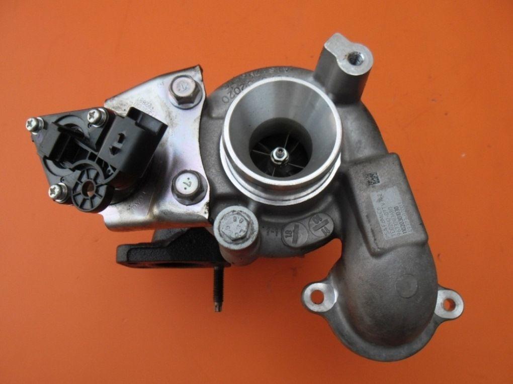 Турбина на Peugeot Expert 1.6 hdi (Пежо Експерт) 68kW електр.клапан