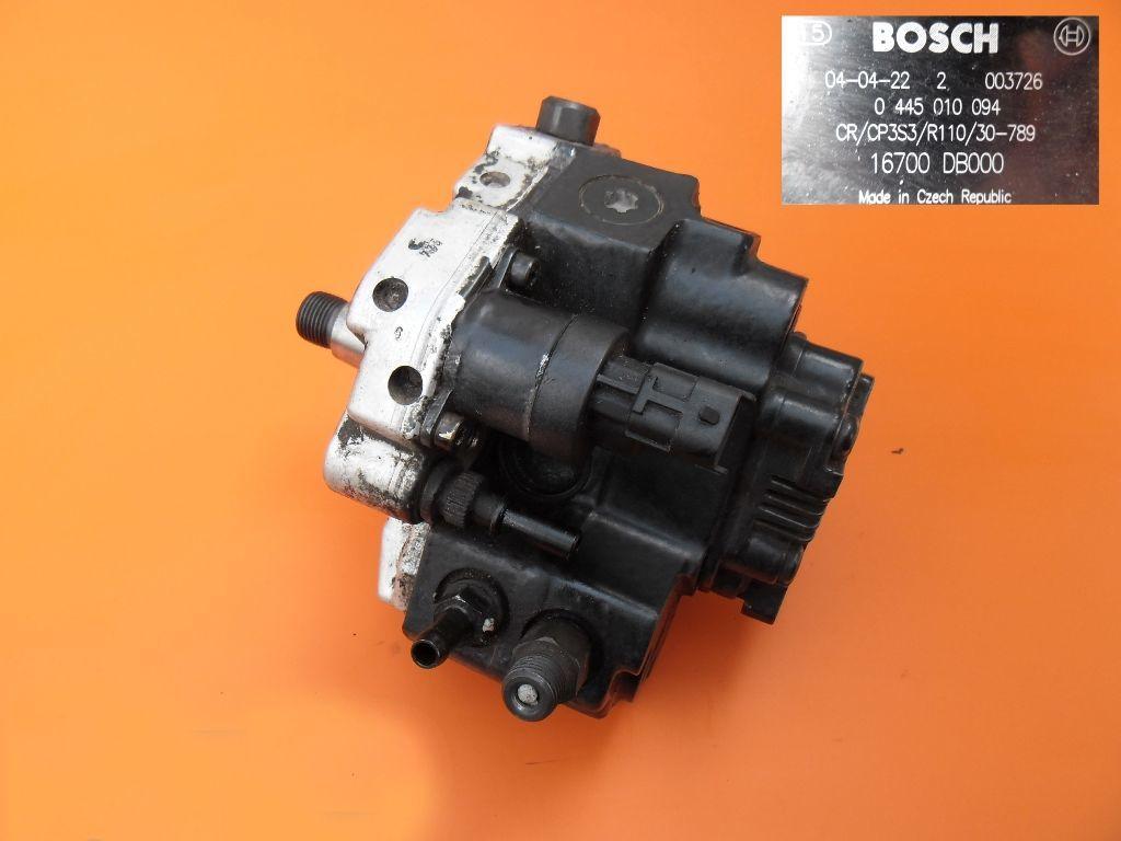 Топливный насос на Opel Movano 3.0 cdti 0445010094