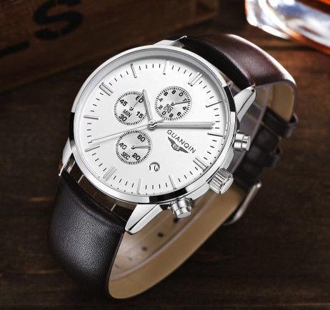 c5af2720 Мужские часы GUANQIN. Купить оригинальные наручные кварцевые!: 900 ...
